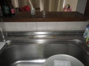 キッチンリフォーム例(台所水道蛇口)